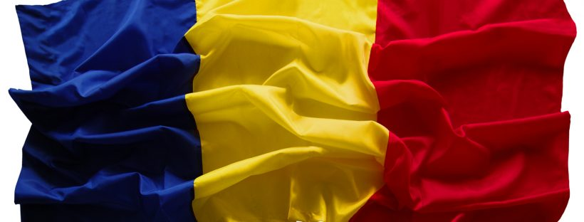 The Romanian flag